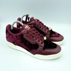 NEW ADIDAS CONTINENTAL 80 SHOES MENS 8 COLLEGIATE